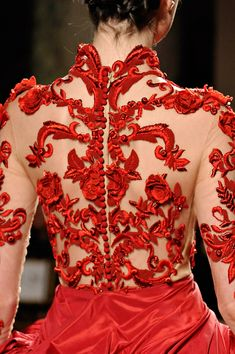 Marchesa Fall 2012 RTW - Details - Vogue