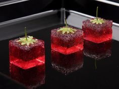 Choose Your Magic Travel: Molecular Gastronomy -The Food of Future Note to self: Probably a strawberry geleé with basil seeds