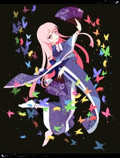 saigyouji yuyuko (touhou) drawn by banzhai zhuchihuo - f73f6aeb9d8d447960959f771266e788.png