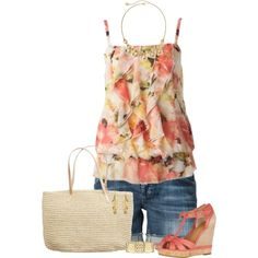 I usually don't like floral but this caught my eye as long as the elastic fits my hips;)