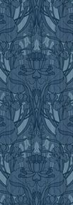 The Bramley by: Trustworth Studios, a British design studio, has some of the most beautiful original wallpaper designs.