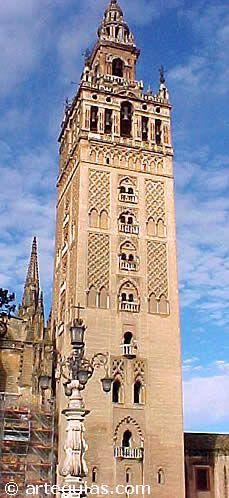 Giralda de Sevilla. Antiguo alminar almohade de la Mezquita