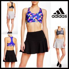 """ADIDAS SPORT SKIRT Black Mini ADIDAS Sport Skirt 💟NEW WITH TAGS💟 SIZING- S = 4-6, L = 12-14, XL = 14-16  ITEM: ADIDAS SPORT SKIRT Mini  * Super soft & textured stretch-to-fit fabric  * Flared hem & A-line silhouette  * Concealed back zip closure   * Approx 15"""" long for size S & 16.5"""" for XL  * Fits true to size  * Quick drying    Material: 68% polyester & 32% Cotton  Color: Black Item#AD93500 SEARCH# skater  🚫No Trades🚫 ✅ Offers Considered*✅ *Please use the blue 'offer' button to submit…"""