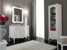 Wooden vanity unit NARCISO 4 Narciso Collection by LEGNOBAGNO