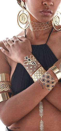 Beyonce Flash Tattoos #Unique_Boho_Style