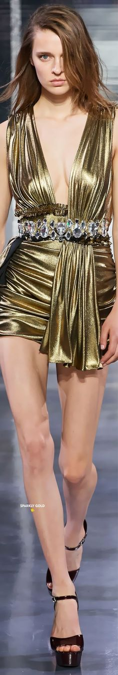 Azzaro Spring 2020 Couture Gold Bed, Gold Furniture, Azzaro, Gold Handbags, Shades Of Gold, Gold Shoes, Gold Accessories, Gold Fashion, Dress Outfits