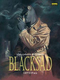 """""""BLACKSAD Integral Vol. 1 a 5"""" de Díaz Canales y Guarnido. Norma Editorial."""