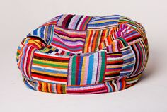 Bean Bag - Small - Ashanti Designs. sourced from handcrafted african fabrics.