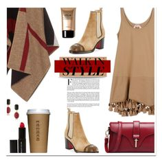 """""""🎀 #571 Walk In Style"""" by wonderful-paradisaical ❤ liked on Polyvore featuring Burberry, Christian Louboutin, N°21, 1st & Gorgeous by Carolee, Beauty Is Life, Winter, chelseaboots and polyvorecontest"""
