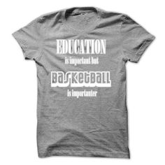 Basketball is importanter - #vintage shirt #green sweater. ADD TO CART => https://www.sunfrog.com/Funny/Basketball-is-importanter-15993127-Guys.html?68278