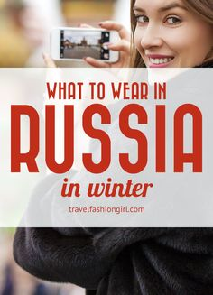 What to Wear in Russia in Winter