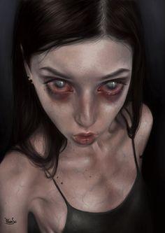 ArtStation - ☽., Elena Sai