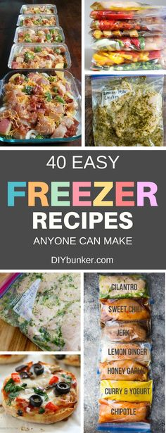 These 40 Make Ahead Freezer Recipes Are Perfect if You're Looking to Make Prep Meals on the Cheap. Beginners can make these too! #mealprep #budget #budgetmeals #recipes