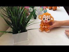 Unique gifts by hand. beaded animals - YouTube