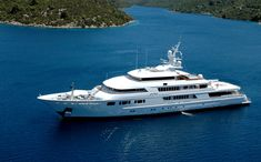 Lady Moura, Price: $210 million. Nasser al-Rashid, advisor to the Saudi royal family, takes things to a whole new level with his onboard beach. The yacht comes with a sand-covered hydraulic platform that can be adjusted to sit right at the waterline.