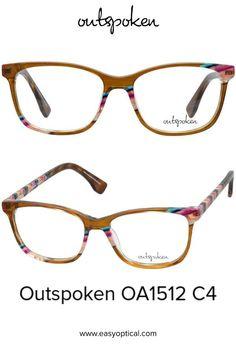 OUTSPOKEN OA1512 C4 Eyewear, Glasses, Easy, Eyeglasses, Eyeglasses, Sunglasses, Eye Glasses