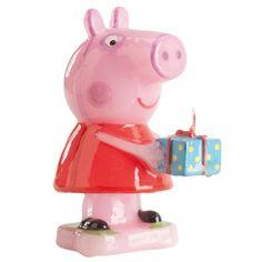 Bonita vela de Peppa Pig que encantará a los pequeños de la casa