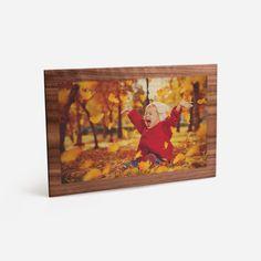 Herbstfeeling in den eigenen vier Wänden! Holzbilder - Ihre schönsten Motive gedruckt auf Holz. Wählen Sie aus unterschiedlichen Formaten und Ausführungen. #holz #herbst #fotoprodukt #fotoaufholz