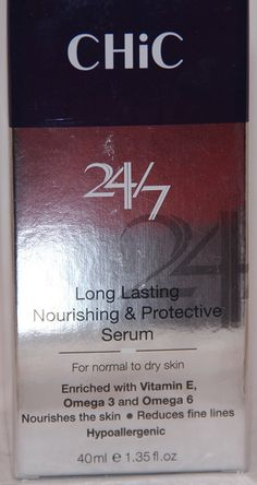Chic 24/7 Long Lasting Nourishing Protective Serum 1.35 Fl Oz ** This is an Amazon Affiliate link. Learn more by visiting the image link.