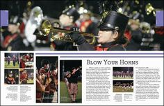 yearbook spread- dominant photo that spreads across the whole page