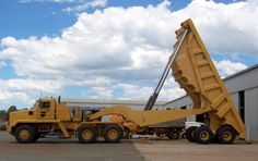 Haulmax. I've never seen one of these before..and I love it!! What a cool dump truck!! So would love to drive this..