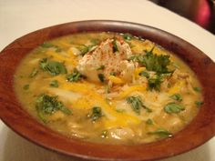 Hatch Green Chile and Chicken Stew - can be made in the Crockpot
