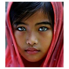 Beautiful eyes of an  Indian Girl.