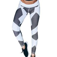 d61c82e20e 1pc New Arrived Women Yoga Fitness Leggings Running Gym Stretch Sports  Pants Trousers High Quality Stretch