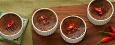 Combine chilli, chocolate & cinnamon in a sweet and spicy crème brulee.