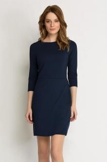 Etuikleid in Wickel-Optik Outfit, Dresses For Work, March, Blue, Shopping, Fashion, Dress Work, Fashion Trends, Curve Dresses