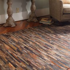 Leather Malone rug a