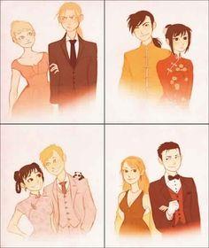 Winry Rockbell, Edward Elric, Ling Yao, Lan Fan, May Chang, Alphonse Elric, Riza Hawkeye, and Roy Mustang _Fullmetal Alchemist Brotherhood