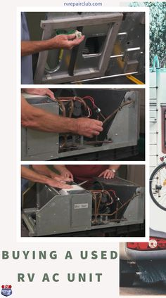 When looking to buy a used RV AC unit for your rig, there are several things you should keep in mind. Although used is generally more cost-effective, remember that pre-owned appliances are always a toss-up; you can only know what kind of shape a unit's in by doing a thorough inspection and running a comprehensive test. Don't take their word, do your homework! Rv Clubs, Used Rv, Ac Units, Rv Tips, Rv Hacks, Homework, Appliances, The Unit, Running