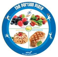 Diabetic Portion Control Containers | Adult Portion Plate Food