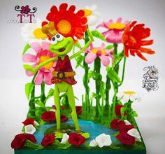 """Mayte Rodriguez """"El rey de la primavera""""  (isomalt)"""