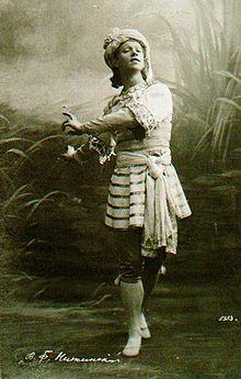Vaslav Nijinsky - Dançarino do Ballet Clássico  Ballet Classique-Academique (1850 - prensent)