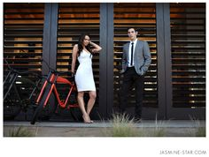 Don't be afraid to get dressed up for your engagement session! Love.