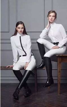 The most important role of equestrian clothing is for security Although horses can be trained they can be unforeseeable when provoked. Riders are susceptible while riding and handling horses, espec… Equestrian Boots, Equestrian Outfits, Equestrian Style, Riding Helmets, Riding Boots, Horse Riding, Moda Fashion, Womens Fashion, Jodhpur