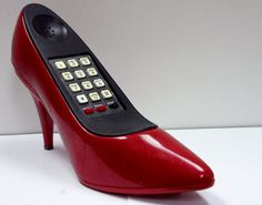 Vintage 1980s Shoe Novelty Phone