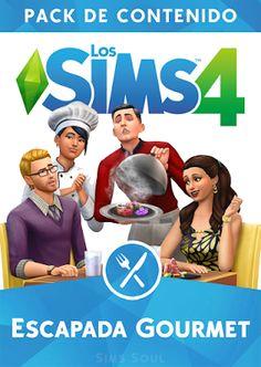 Los Sims 4 Escapada Gourmet Pack de Contenido Sims Soul