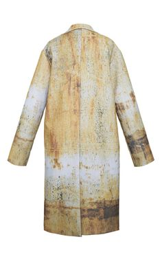 Printed Oversized Coat by Bevza | Moda Operandi