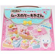 DIY set for making cakes and tortes with mousse clay from Japan