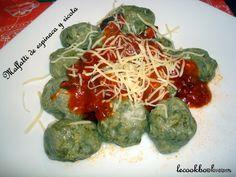 Malfatti de espinaca y ricota | Le Cookbook