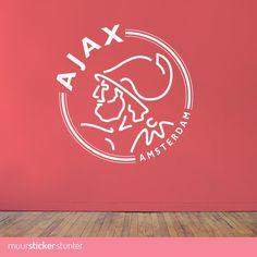 AFC Ajax Muursticker voor de echte Ajax fans! Logo verkrijgbaar in verschillende afmetingen ✓ Snelle levering ✓ Hoge kwaliteit Vinyl ✓ Gemakkelijk plakken