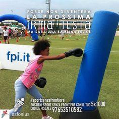 @Regrann from @ssfonlus -  Cosa rende un bambino davvero felice? Muoversi divertirsi giocare insieme. Crescere un passo per volta facendo sport con tanti nuovi amici lontano dalla strada per avere una vita sana e un futuro sereno.  Sostenere i nostri bambini non ti costerà nulla. Basta solo una firma. Dona il tuo 51000 a Sport Senza Frontiere: codice fiscale 97653510582.  @IrmaTesta #IrmaTesta #SportSenzaFrontiere #campione #campioni #campionessa #campionesse #forzaragazzi #orgoglio #vincere…