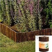 garden bed edgeing natural materials - Google Search