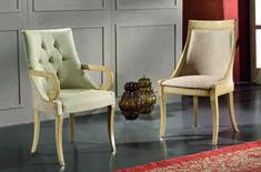 Scaun cu brate este o piesa de mobilier gratioasa, in stil baroc, cu elemente decorative sculptate manual care aduce eleganta interioarelor noastre. Este lucrat manual, din lemn de fag. Tapiseria si culoarea lemnului, va invitam sa le personalizati in functie de ambientul  casei dumneavoastra. #scaun #scaune #chair #chairs #scauneclasice #scaunetaptate #scauneliving #scaunebucatarie Wingback Chair, Accent Chairs, Dining, Furniture, Home Decor, Upholstered Chairs, Food, Decoration Home, Room Decor