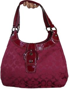 Love This Deep Red In The Mood For A Hand Bag
