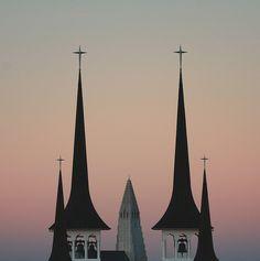 Bell Towers by Sverrir Thor