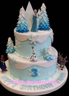 Frozen inspired Frozen inspiredYou can find Disney frozen cake and more on our website. Frozen Birthday Party, Elsa Birthday Cake, 4th Birthday, Birthday Ideas, Birthday Parties, Birthday Recipes, Carnival Birthday, Tarta Fondant Frozen, Fondant Cupcakes